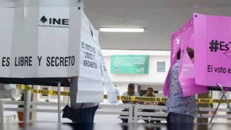 En Michoacán 8 mil 502 ciudadanos contienden para puestos de elección; 54 por ciento son mujeres