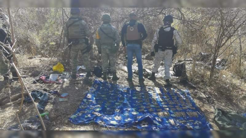 """Revienta la Sedena tres """"narcocampamentos"""" en Zamora, Michoacán"""
