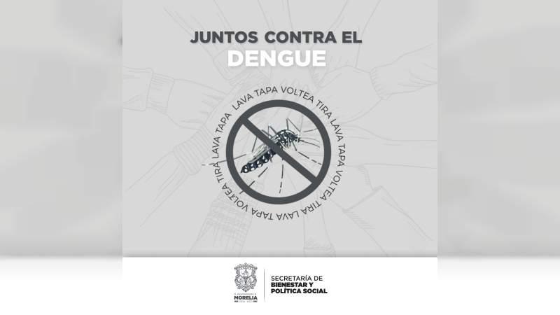 Salud Municipal emite medidas preventivas contra mosquito transmisor del dengue