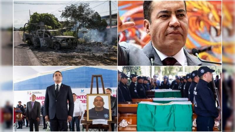 """""""¡K8 al Aguaje, nos acaban de tirar con un dron!"""": 18 meses de guerra en Aguililla, con la tolerancia de Herrera y Aureoles"""