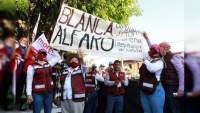 Falleció la candidata Blanca Alfaro Vázquez.