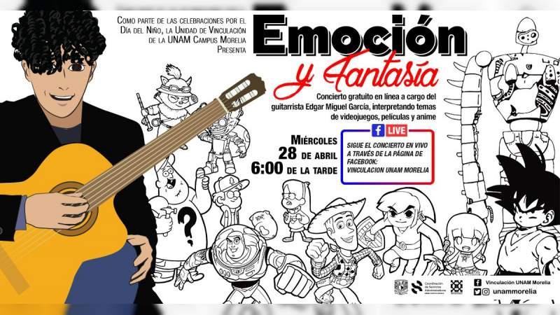 Concierto especial para festejar a los niñ@s con Edgar Miguel García