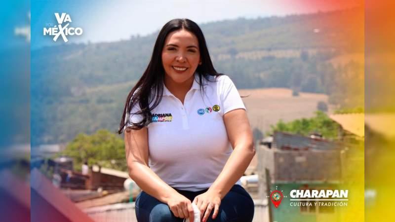 Atracan a candidata del PAN a la presidencia de Jacona, Michoacán, le roban su camioneta