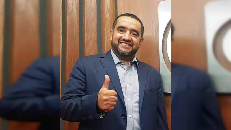 César Palafox, el primer candidato víctima de violencia en el proceso electoral 2021 en Michoacán