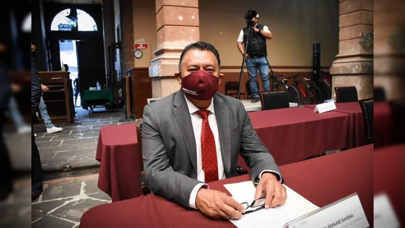 Condena Fermín Bernabé hechos violentos contra candidatos