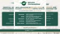 En Michoacán, iniciará aplicación de 2ª dosis AstraZeneca