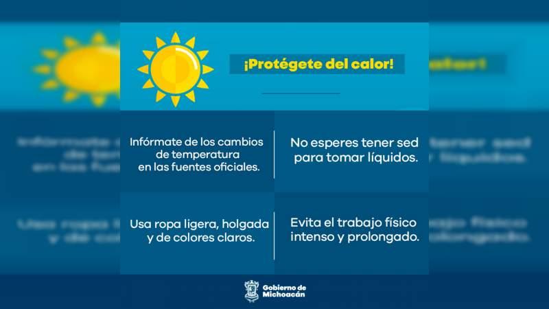 PC exhorta a seguir recomendaciones de protección ante cambios de temperatura