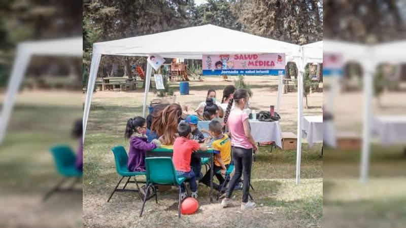 Realiza DIF Municipal Uruapan exitosa Jornada de Salud Infantil