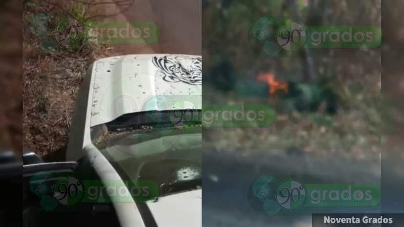 """Abatidos y quemados en Ciudad Hidalgo eran primo y sobrinos del """"Tigre"""": CJNG los emboscó cuando iban a boda de Los Correa"""