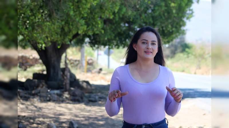 Julissa Gutiérrez Pérez se registró ante el IEM como candidata a la alcaldía de Panindícuaro