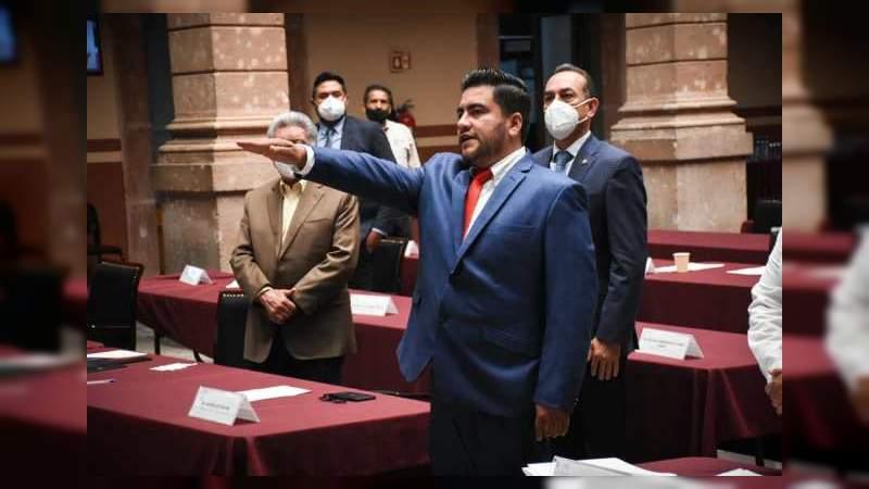Designan a hijo de Martín Samaguey presidente de Zamora; un improvisado