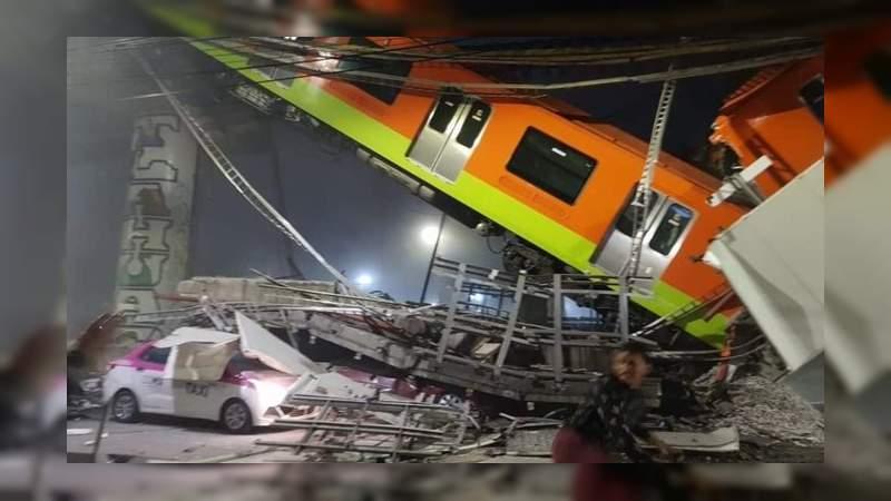 19 fallecidos y más de 70 heridos por siniestro en el Metro de la Ciudad de México; se interrumpe rescate por riesgo
