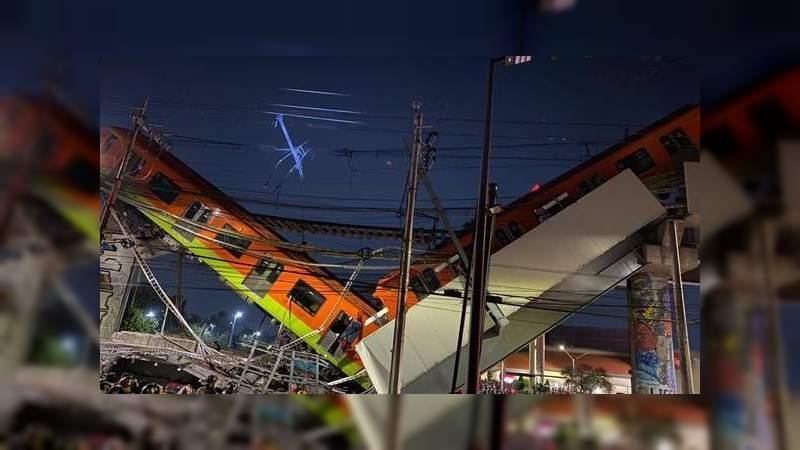 Grupo Carso espera el peritaje del accidente de la Línea 12 del metro