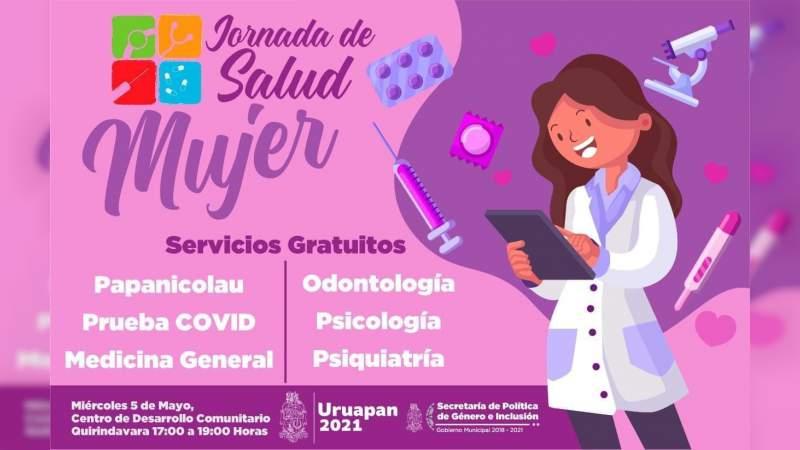 Jornada de Salud Mujer este miércoles en Cedeco de Quirindavara