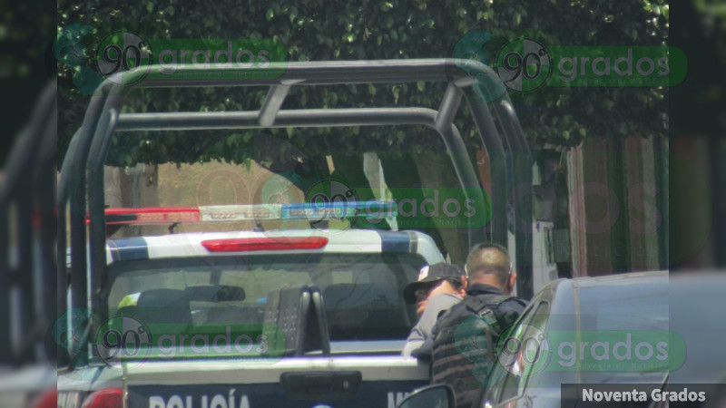 Se enfrenta a tiros con Policías de Investigación en Zamora, Michoacán