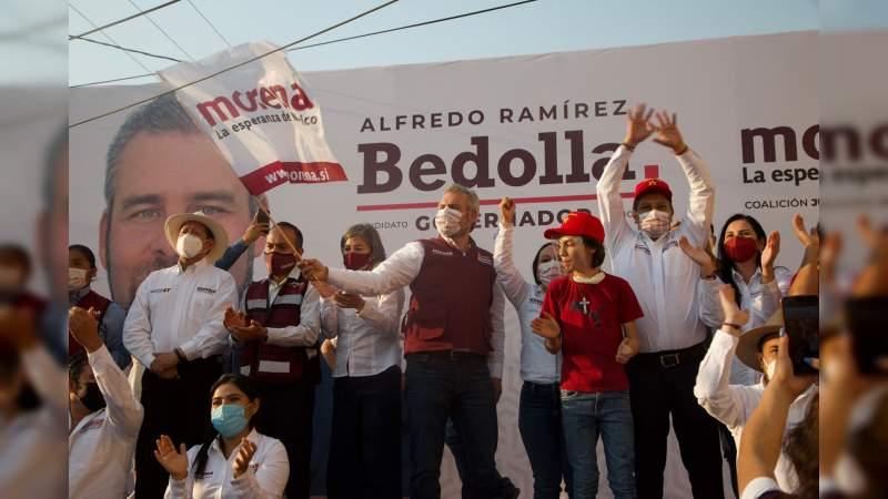 Llegó la hora de sacar a los corruptos: Bedolla