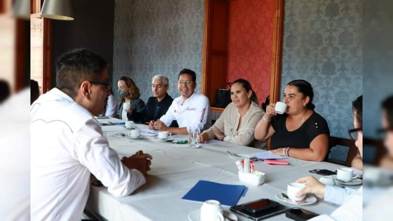 Queremos hacer de Morelia, la capital cultural de México: Iván Pérez Negrón
