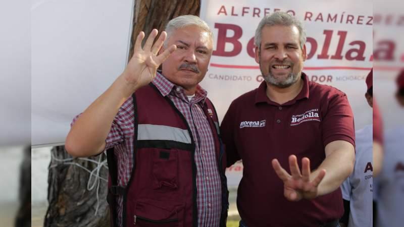 Dirigente municipal del PRD en Tanhuato se suma al proyecto de Bedolla