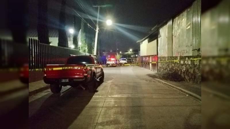 Asesinan a tiros a un hombre en Morelia, Michoacán