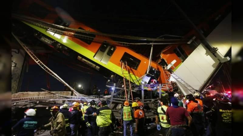 Asciende a 26 el número de muertos por el desplome en la Línea 12 del Metro en la CDMX