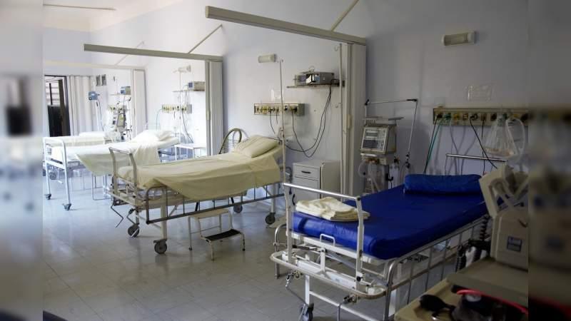 Los Hospitales de mayor ocupación en camas COVID-19, son el de Uruapan, Pátzcuaro y Apatzingán