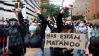 Han desaparecido 548 personas durante manifestaciones en Colombia