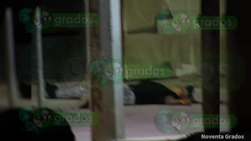 En calles de Jacona, Michoacán asesinan a un hombre