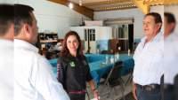 Conmigo van a tener certezas y acuerdos: Marx Aguirre a comerciantes