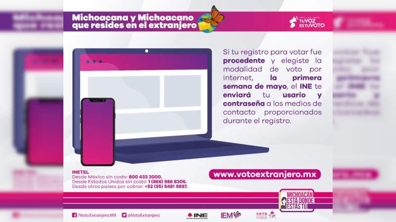 Voto electrónico: como votarán michoacanas y michoacanos que radican en el extranjero