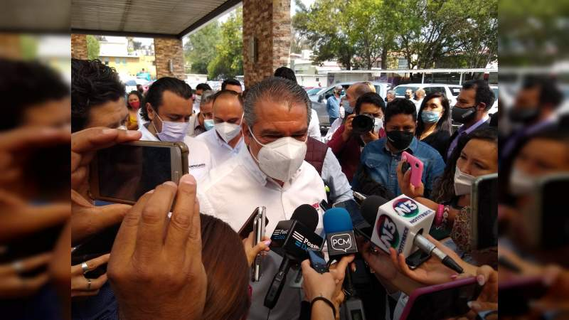 Llama Raúl Morón a denunciar a AMLO si lo consideran pertinente