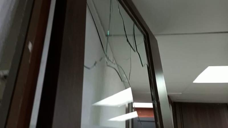 SEE interpone denuncia por vandalismo en el interior de la dependencia