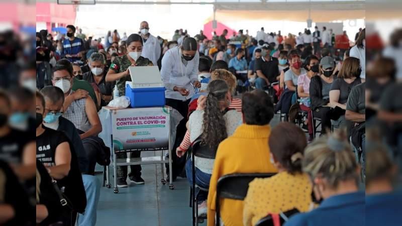 Son 578 michoacanos de 40 a 49 años los fallecidos a causa de COVID-19