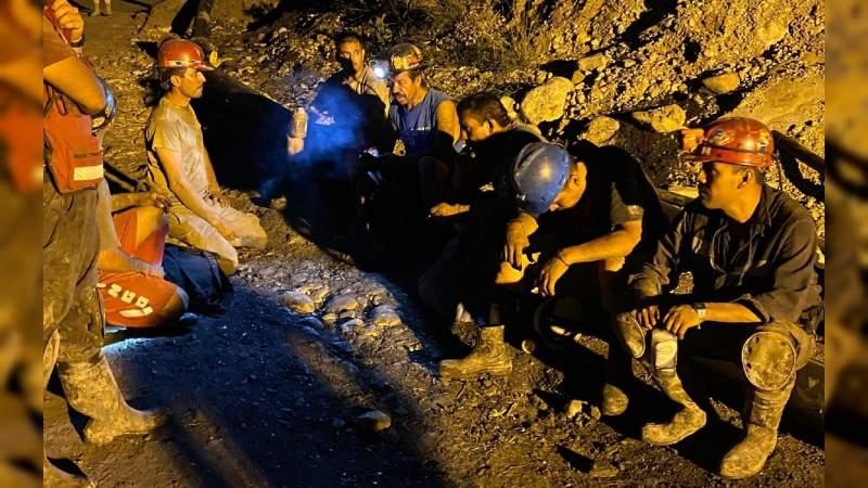 Localizan sexto cuerpo de mineros atrapados en Coahuila, operación continúa en busca del último cuerpo atrapado en la mina