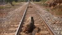 Industriales advierten desabastos por bloqueo a las vías del tren en Taretan: Pobladores exigen aparición de secuestrado