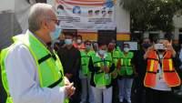 Se une Hospital General de Uruapan al Simulacro Nacional 2021