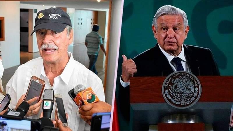 """Vicente Fox: """"La consulta contra los expresidentes de AMLO es una verdadera jalada"""""""