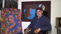 José Macías pintor que refleja las tradiciones michoacanas