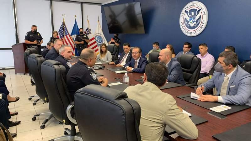 Gobierno de México se reúne con Oficina de Aduanas y Protección Fronteriza de EU