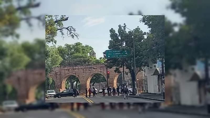 CNTE bloquea nuevamente la avenida Ventura Puente