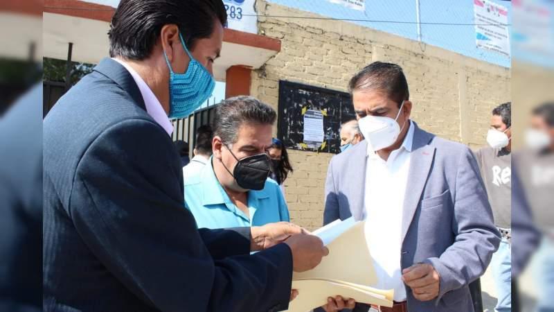 SEE entrega de insumos de limpieza en escuelas de las 12 regiones de Michoacán
