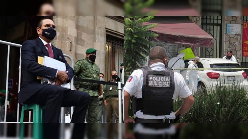 Aureoles prometió pacificar Morelia y Uruapan para 2016; los entrega en 2021 como los más violentos del país