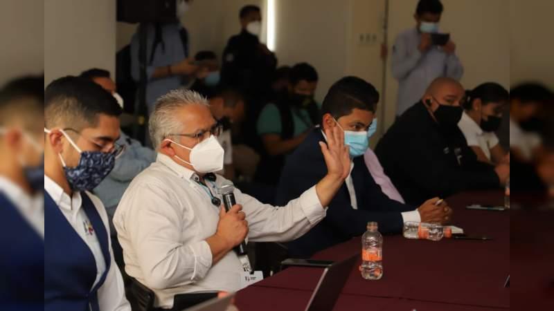 Fortalece Gobierno de Morelia, medidas sanitarias ante repunte de casos Covid-19