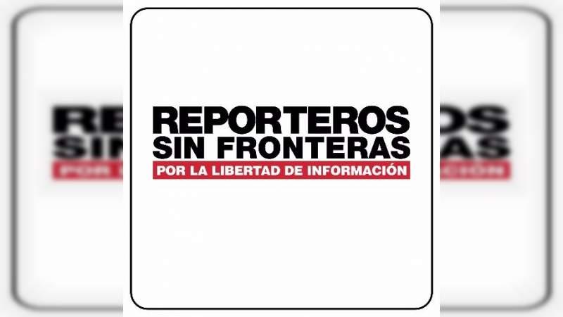Reporteros Sin Fronteras denunció en Paris a quien resulte responsable de la red de espionaje a reporteros