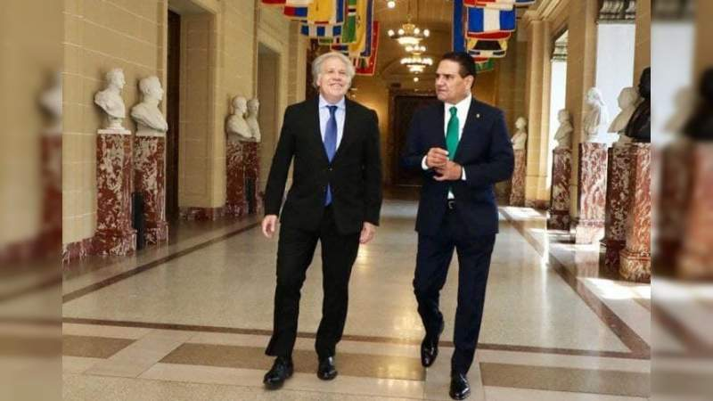 Desde la OEA, Silvano Aureoles crítica política de AMLO - Noventa Grados -  Noticias de México y el Mundo