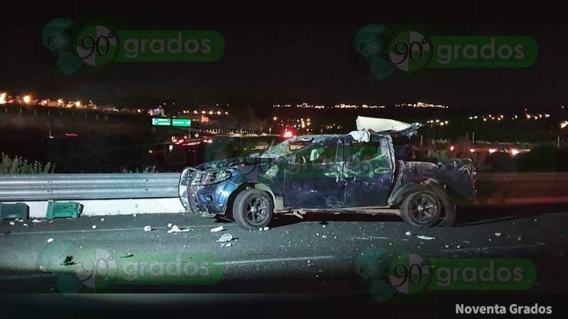 Accidente deja 3 muertos y 4 heridos en carretera La Piedad – Numarán