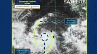 Huracán Hilda se localiza en el Océano Pacífico