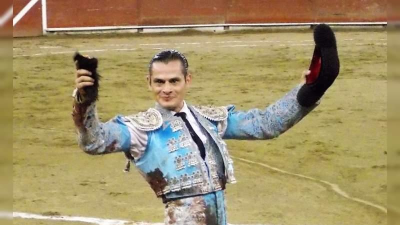 Bruno Vélez, triunfador de la novillada de la Monumental de Morelia