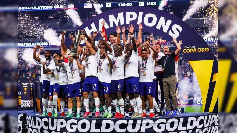 Estados Unidos campeón de Copa Oro, tras derrotar a México en la final