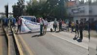 CNTE bloquea accesos a Morelia