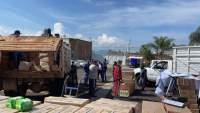 Distribuye SEE insumos para combatir el COVID-19 escuelas de Uruapan